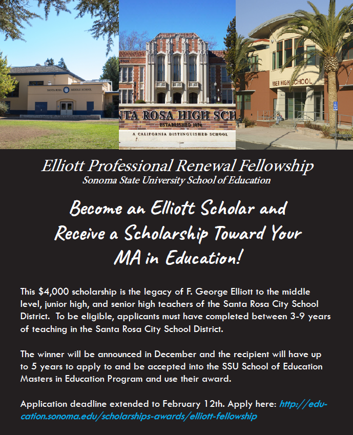 Elliott Scholarship Flyer