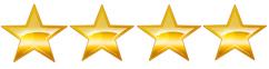 Four gold stars
